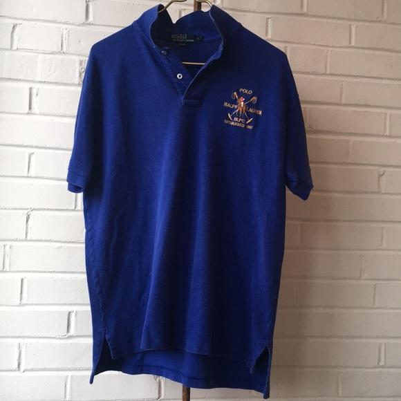 c59adab63 Polo by Ralph Lauren Shirts | Vintage Polo Ralph Lauren Blue 1967 ...
